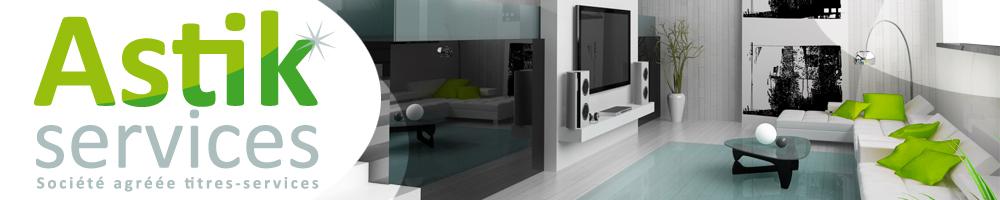 Astik services, aide ménagère à domicile, nettoyage, repassage, société agréée titres-services
